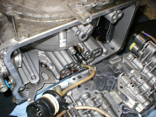 Output Speed sensor Installation